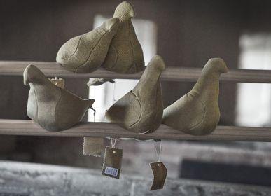 Objets design - Décoration de service de pigeon coloré - THOMAS EYCK
