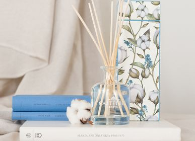 Scent diffusers - Castelbel Cotton Flower Fragrance Diffuser - 100ml and 250ml - CASTELBEL