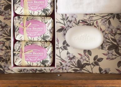 Savons - Castelbel White Jasmine Soap Set - 3x150g soaps - CASTELBEL