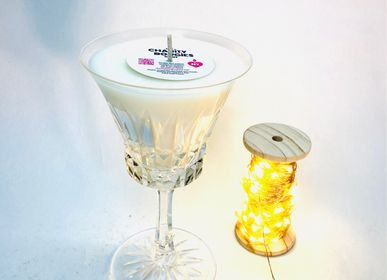 Decorative objects - CHARITY BOUGIES  CANDLE GLASS M - LES CHARITY BOUGIES DE NY