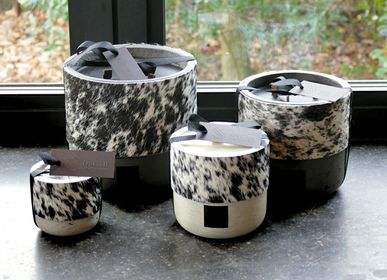 Bougies - Collection de bougies en peaux de vache - OSCAR CANDLES
