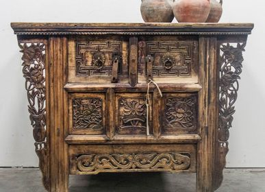 Console table - Old Console table - THE SILK ROAD COLLECTION