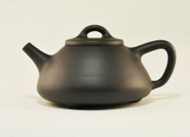 Accessoires thé et café - Théière argile noire - TERRE DE CHINE
