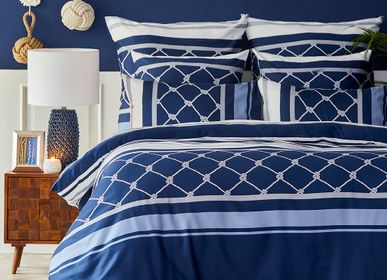 Linge de lit - Nautica Home Parure de lit avec housse de couette satinée - NAUTICA