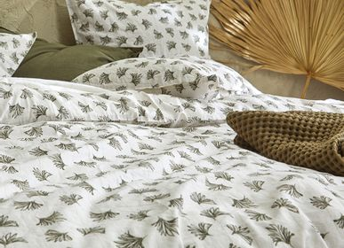 Bed linens - Washed organic cotton percale - Naturel bed linen - DORAN SOU