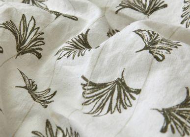 Bed linens - Washed organic cotton percale - Naturel bed linen - DORAN SOU