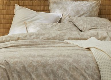 Bed linens - Organic cotton percale Goa sand - DORAN SOU
