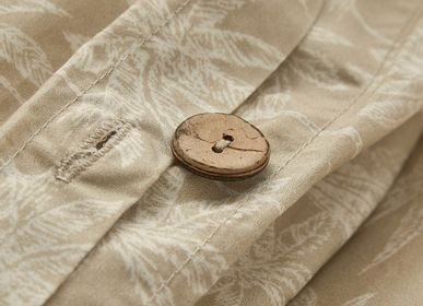 Bed linens - Organic cotton percale Goa sand - DORAN SOU