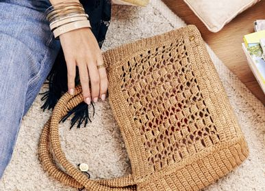 Bags and totes - JANE Small raffia tote bag - SANABAY PARIS