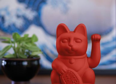 Decorative objects - Maneki Neko/ Lucky Cat / Red  - DONKEY PRODUCTS