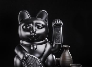 Objets de décoration - Maneki Neko/Chat chanceux Grand /Noir - DONKEY PRODUCTS