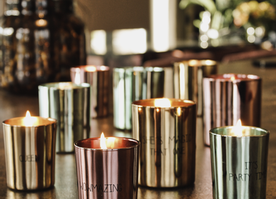 Candles - The GLAM collection - MY FLAME LIFESTYLE