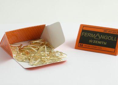 Objets design - TROMBONES - ATTACHE COINS DE PAPIER ZENITH 815 GOLD - ZENITH