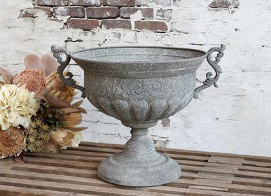 Decorative objects - Zinc - romantic, yet rustic - CHIC ANTIQUE DENMARK