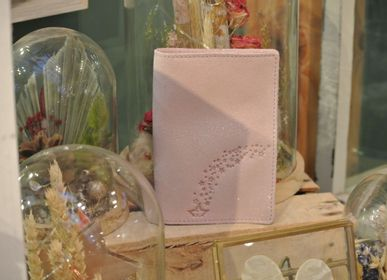 Leather goods - Double Glitter Leather Card Case - LA CARTABLIÈRE