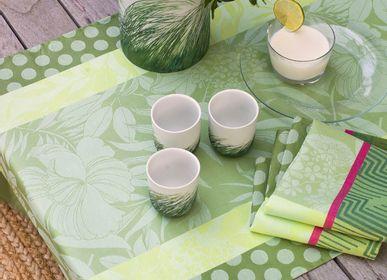 Linge de table textile - Nature Urbaine - LE JACQUARD FRANCAIS