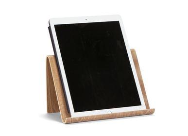 Sets de bureaux - Support tablette en bois de saule 26x16.5x16 cm PA21002 - ANDREA HOUSE