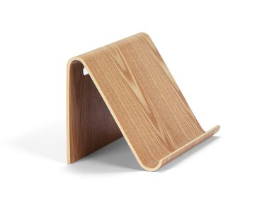 Office sets - Willow wood tablet stand holder  26x16.5x16 cm PA21002 - ANDREA HOUSE