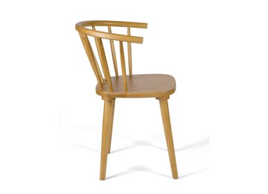 Chairs - Valerie elm wood chair 44x42x76 cm MU21019 - ANDREA HOUSE