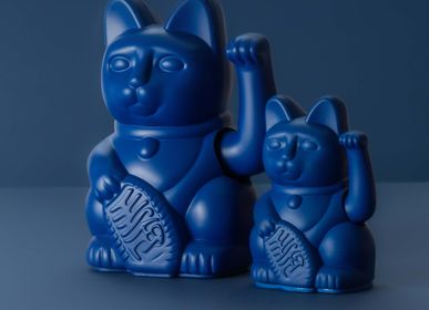 Decorative objects - Maneki Neko / Lucky Cat Mini / Dark Blue  - DONKEY PRODUCTS