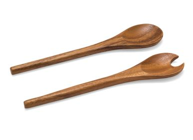 Kitchen utensils - Set of 2 acacia wood utensils 30.5 cm MS21064 - ANDREA HOUSE