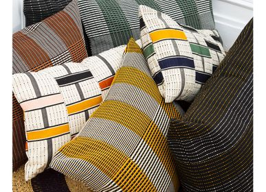 Fabric cushions - Cushion TO + FRO - GOLDEN EDITIONS