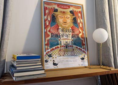 Poster - POSTER INTINÉRAIRE D'UN ENFANT GÂTÉ - PLAKAT - DESIGNING MOVIE POSTERS -
