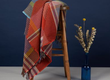 Decorative objects - Pinstripe Throw Beatrix - WALLACE SEWELL