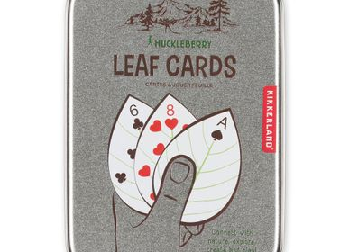 Toys - Huckleberry Leaf Cards - KIKKERLAND
