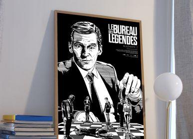 Poster - POSTER LE BUREAU DES LÉGENDES - SEASON 2 - PLAKAT - DESIGNING MOVIE POSTERS -