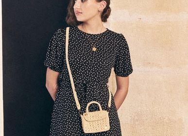 Bags and totes - FELICIE MINI - tiny raffia bag - SANABAY PARIS