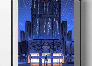 Poster - POSTER LE BUREAU DES LÉGENDES - SEASON 4 - PLAKAT - DESIGNING MOVIE POSTERS -