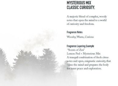 Fragrance for women & men - Mysterious Mix - SHOLAYERED FRAGRANCE