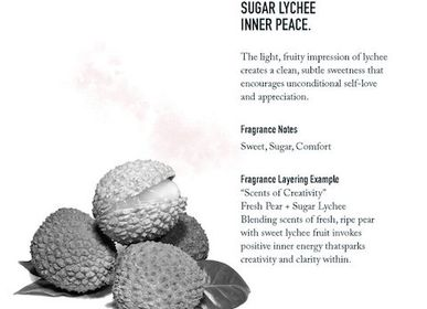Diffuseurs de parfums - Litchi Sucre - SHOLAYERED FRAGRANCE