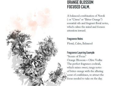 Fragrance for women & men - Orange Blossom     - SHOLAYERED FRAGRANCE