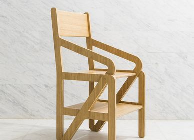 Chairs - ESC 01/Stepladder Chair - 1% DESIGN