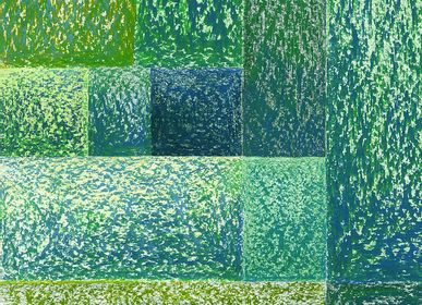 Panels - Moss _ Wallcovering - FRANCESCA COLOMBO