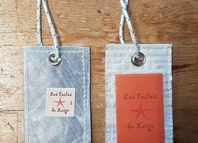 Petite maroquinerie - Etiquette bagage - LES TOILES DU LARGE