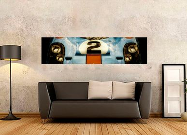 Art photos - Panoramic picture of a Porsche 917 boot - SAILS & RODS