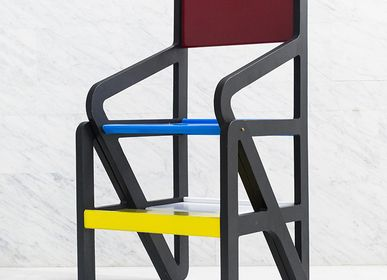 Chairs - ESC 01/Ladder Chair/ Mondrian Rietveld [hommage] - 1% DESIGN