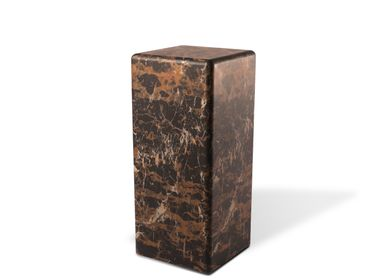 Consoles - Pillar Marble Look Brown - POLS POTTEN