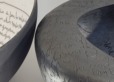 Unique pieces - Earth Sculpture - Poetry Container - Extra Large - KARINE DENIS