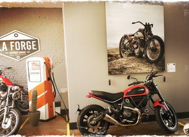 Art photos - Vintage picture Harley - SAILS & RODS