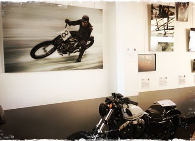 Photos d'art - Photo vintage Harley - SAILS & RODS