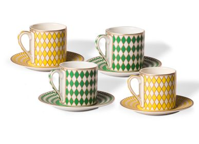 Platter and bowls - Chess Dishware series - POLS POTTEN