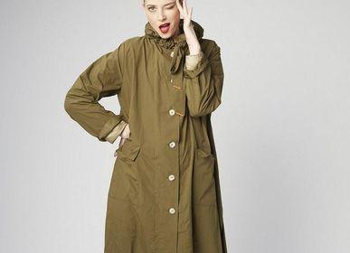 Apparel - The Classic Raincoat - Khaki - CUMULUS BY FRANCOISE PENDVILLE