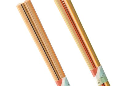 Gifts - Multi Stripes-modern design chopsticks - HASHIFUKU