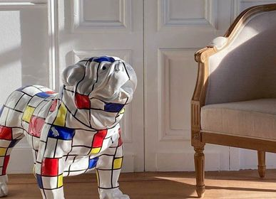 "Outdoor decorative accessories - Bulldog collection ""square""  - AMADEUS"