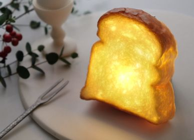Cadeaux - PAMPSHADE -Round Toast bread lamp - - PAMPSHADE BY YUKIKO MORITA