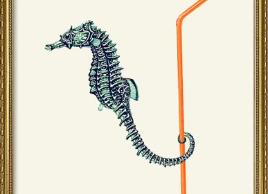 Poster - Sea horse. - THE DYBDAHL CO.